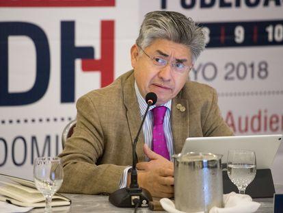 Joel Hernández, presidente de la Comisión Interamericana de Derechos Humanos.