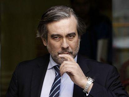 Enrique López, magistrado propuesto por el Gobierno al TC.