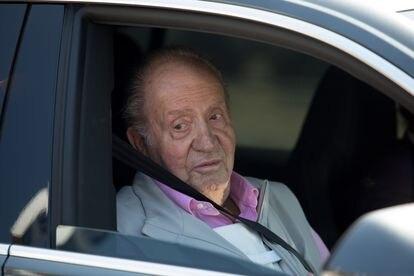 Juan Carlos I abandonaba, en agosto de 2019, el hospital madrileño en el que fue operado del corazón.