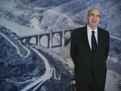 El ingeniero Javier Manterola, fotografiado en Madrid.