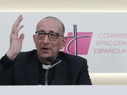 Juan José Omeya, nuevo presidente de la Conferencia Episcopal Española.