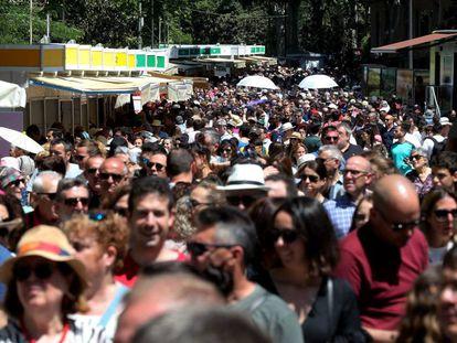 La Feria del Libro de Madrid, este fin de semana.