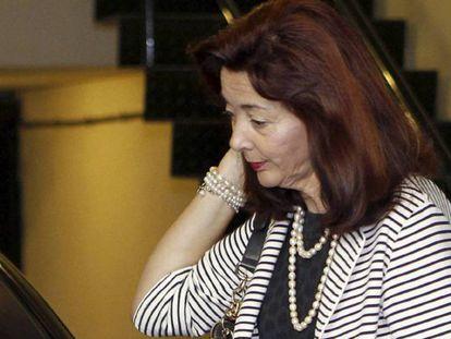 La jueza Concepción Espejel, actual presidenta de la Sala de lo Penal de la Audiencia Nacional y propuesta por el PP como magistrada del Constitucional.