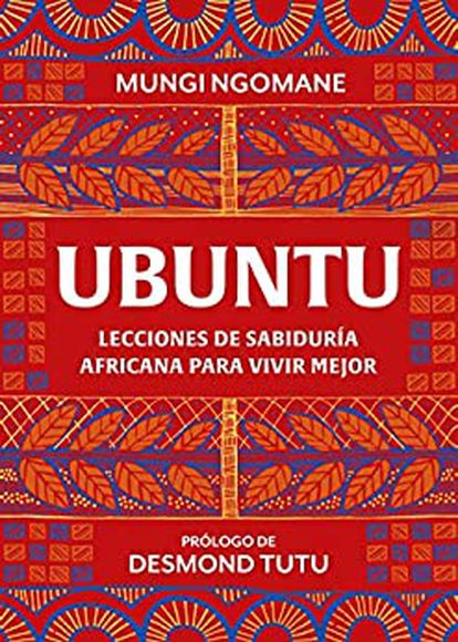 Portada de Ubuntu, lecciones de sabiduría africana para vivir mejor.