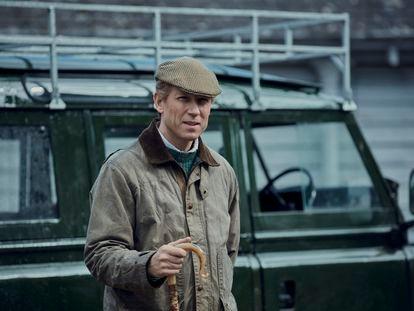Felipe de Edimburgo (Tobias Menzies), en un capítulo de la cuarta temporada de 'The Crown'.