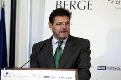 El secretario de Estado de Infraestructuras, Transportes y Vivienda del Ministerio de Fomento, Rafael Catalá. EFE/Archivo