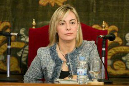 La alcaldesa de Alicante, Sonia Castedo.