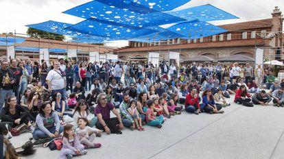 Imagen del Festival Poetas en el Matadero Madrid el 2016.