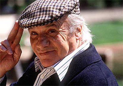 Paco Rabal, en una fotografía captada en 1994.