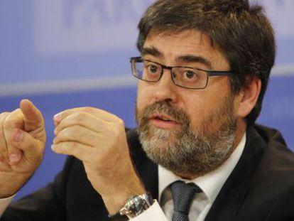 El presidente de la Cámara de Cuentas andaluza, Antonio López.