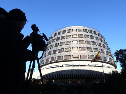La sede del Tribunal Constitucional, en una imagen de archivo.