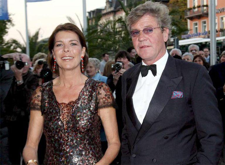 Carolina de Mónaco y  Ernesto de Hannover, en Baden-Baden.