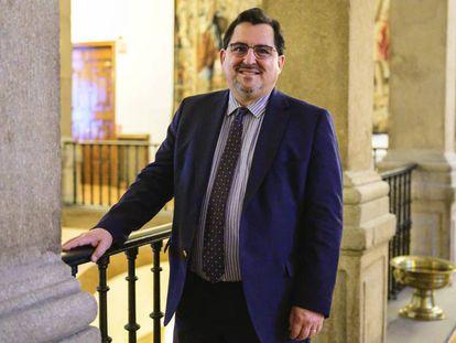 Marco Aguiriano, secretario de Estado para la UE, el pasado 16 de diciembre en el Ministerio de Exteriores.