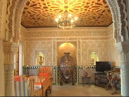 Recorrido por la réplica de la Alhambra. Vídeo: Atlas