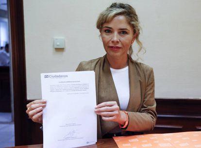 Marta Martín, diputada de Ciudadanos.