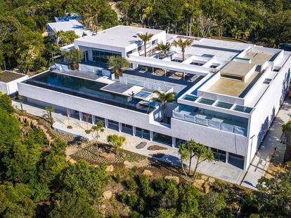 La casa de Elsa Pataky y Chris Hemsworth en Byron Bay (Australia).
