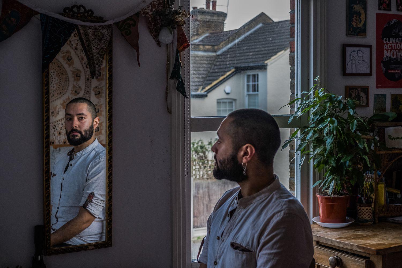 Nathan Nuckir, de 27 años, se ha unido al movimiento BirthStrike: renunciar a tener hijos. Pinche en la imagen para ver la fotogalería completa.