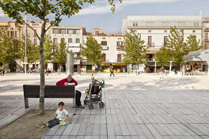 La plaza de Vilafranca del Penedés, del estudio Vora Arquitectura.