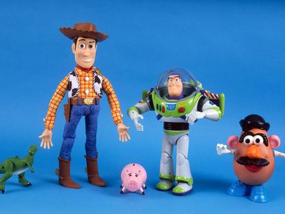 Juguetes de los personajes de Toy Story