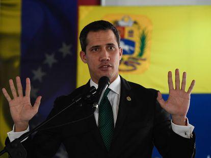 El líder opositor venezolano, Juan Guaidó.