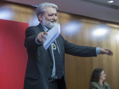 Gonzalo Pontón, tras su discurso como doctor 'honoris causa'.