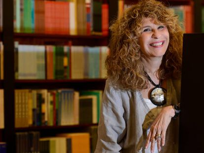 La escritora nicaragüense Gioconda Belli, que participa en el 33 Festival Internacional de Poesía de Barcelona.