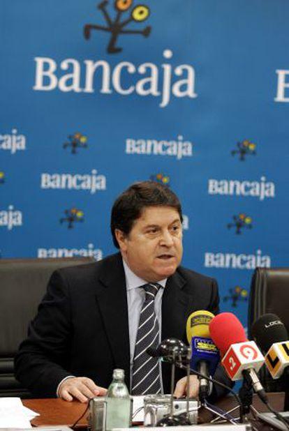 José Luis Olivas cuando era presidente de Bancaja.