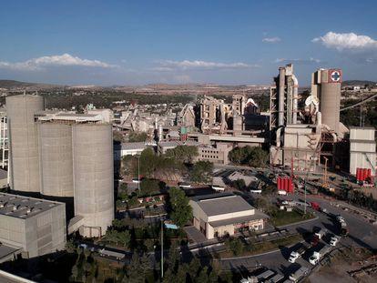 La fábrica de cemento Cruz Azul, en el Estado mexicano de Hidalgo.