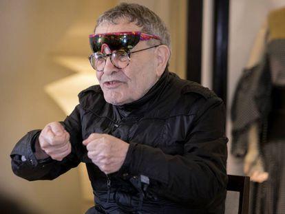 Pincha en la imagen para ver íntegro el vídeo de la participación de Fernando Arrabal en Loewe Conversations.