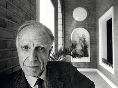El escritor argentino Adolfo Bioy Casares, fotografiado en Madrid.