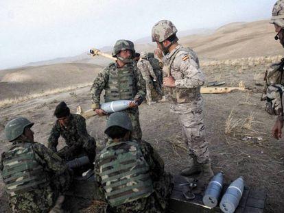 Ejercito español en Afganistán, en una imagen de archivo.