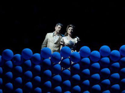 Un momento de 'Lady, be good', en el teatro de La Zarzuela.
