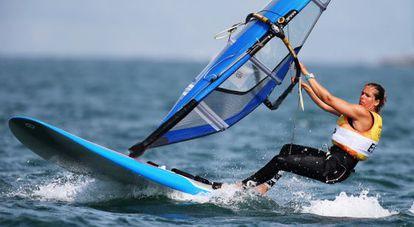 La campeona olímpica Marina Alabau