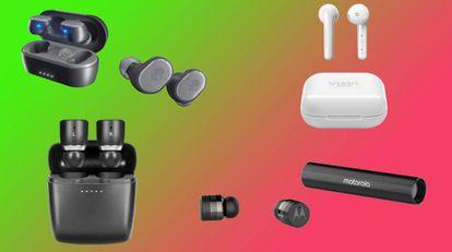Analizamos cinco marcas de renombre que fabrican auriculares 'true wireless': Xiaomi, Huawei, Vieta o Motorola, entre otros.