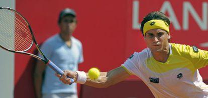Ferrer, en su partido contra Robredo.