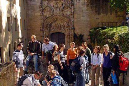 Alumnos de la Universidad SEK de Segovia.
