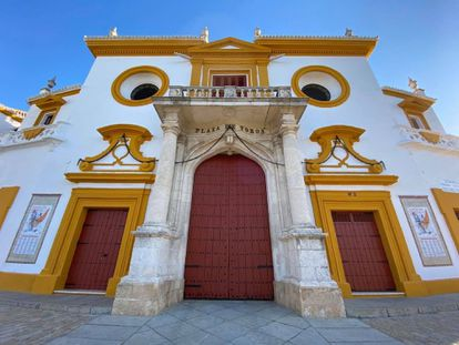 Puerta del Príncipe de La Maestranza de Sevilla.