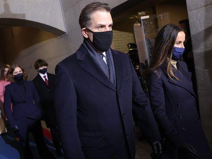Hunter Biden el día de la investidura de Joe Biden, el pasado 20 de enero.