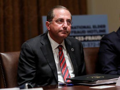 El secretario de Salud de EE UU, Alex Azar, el pasado junio.