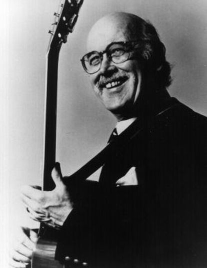 Jim Hall, guitarrista de jazz.