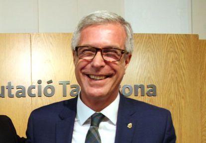 El alcalde de Tarragona, Josep Fèlix Ballesteros.