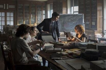 Álvaro Mel y Ana Polvorosa son los protagonistas de 'La Fortuna', una coproducción entre AMC y Movistar+.