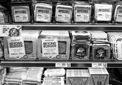 Las estadounidenses Impossible Foods y Beyond Meat están triunfando  en ciudades como Nueva York.