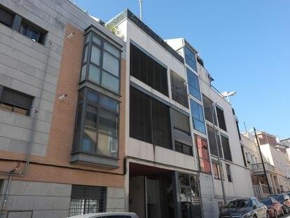 Edificio diseñado por Rocío Monasterio en la calle Felipe Campos 29, en Madrid.