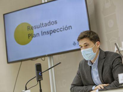 El concejal de Hacienda en el Ayuntamiento de València, Borja Sanjuán.