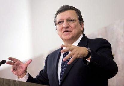 El presidente de la Comisión, Jose Manuel Durao Barroso.