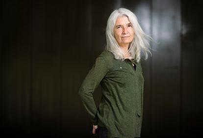 La escritora Belén Gopegui, el pasado martes en Madrid.