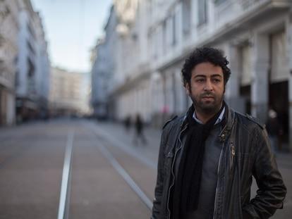 Omar Radi, en Casablanca, en 2018.