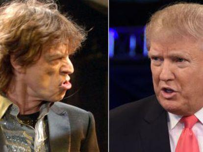 El nuevo presidente elige el himno crepuscular de los Rolling,  You can t always get what you want , y Jagger le responde