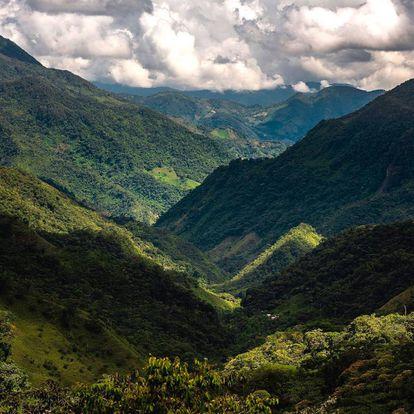 Reserva forestal protectora regional Cañones de los ríos Melcocho y Santo Domingo.